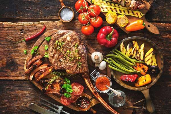 لیست غذاهای بدنسازی