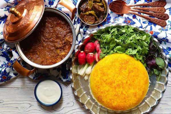 غذاهای محلی لاهیجان