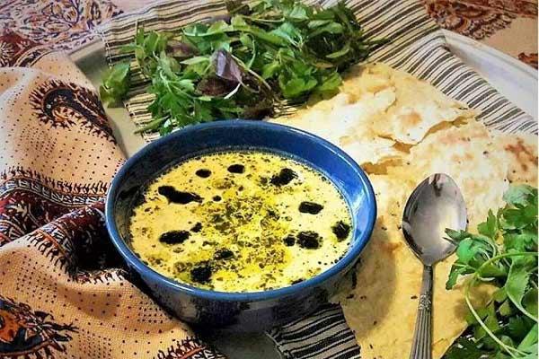 طرز تهیه غذای محلی همدان کله جوش